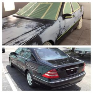 Miami Car Repaint - Before & After