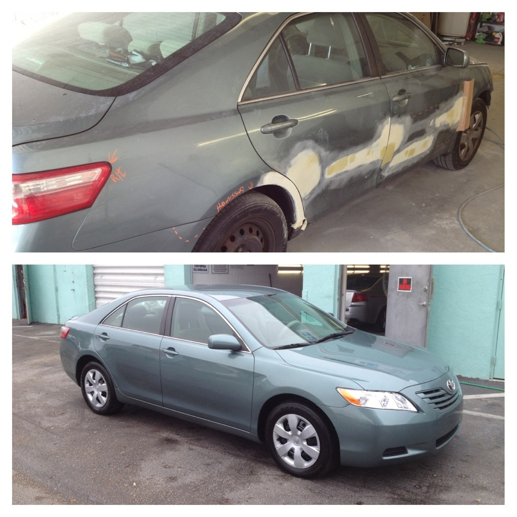 2010 Toyota Camry Completely Repaired & Refinished