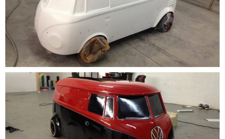 1961 Mini VW Panel Bus Christmas Present